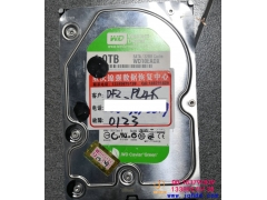 WD/西数WD10EARS-00Y5B1盘片划伤大华监控数据成功恢复案例